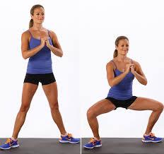 wide squat